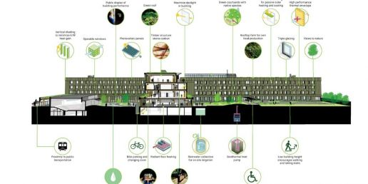 Infographic on sustainability.